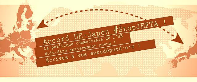 JEFTA – interpellez vos eurodéputé-e-s maintenant !