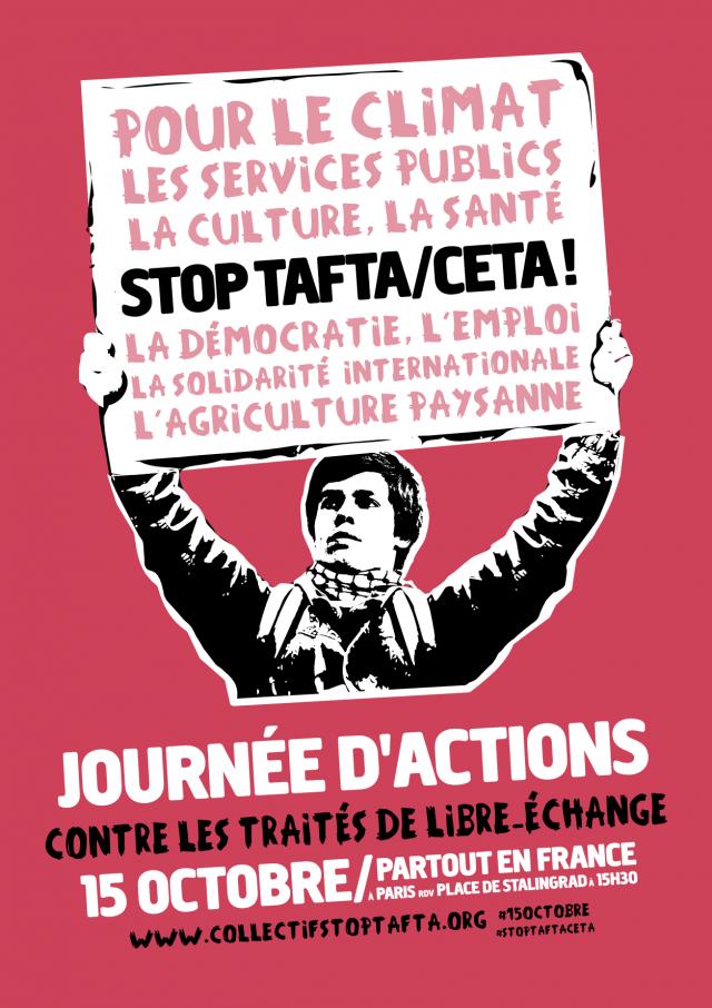On a toutes et tous une bonne raison de s'opposer au TAFTA et au CETA