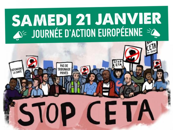 Appel pour une journée d'action européenne le 21 janvier