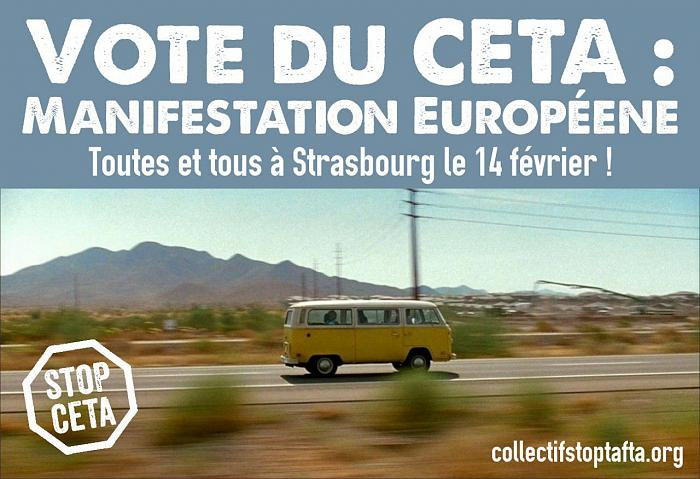Mobilisation #StopCETA : organisation des bus pour Strasbourg