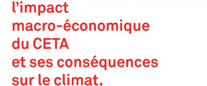 La société civile demande un référendum sur le CETA et présente son nouveau rapport