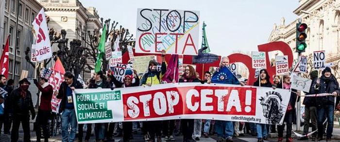 URGENCE CETA – Demandez à vos parlementaires de ne pas ratifier le CETA !