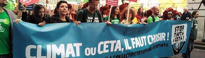 Assez de mots Emmanuel Macron : stoppez la ratification du CETA !