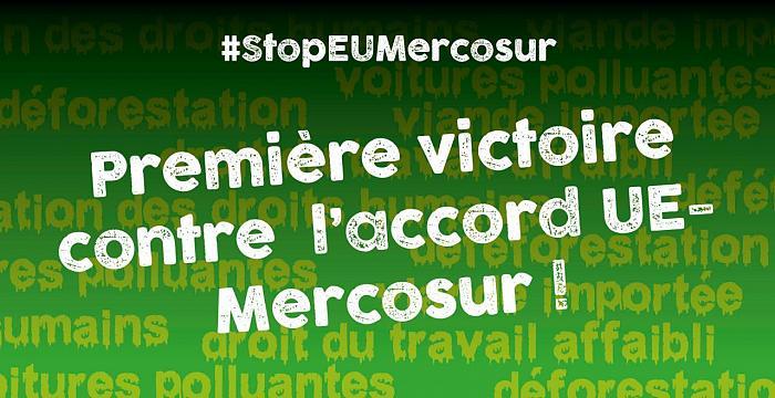 Vers une première victoire contre l'Accord UE-Mercosur