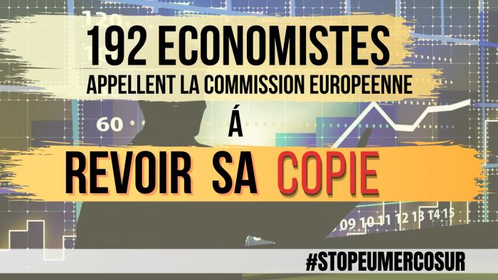 Accord UE-Mercosur : Près de 200 économistes demandent à la Commission de revoir sa copie