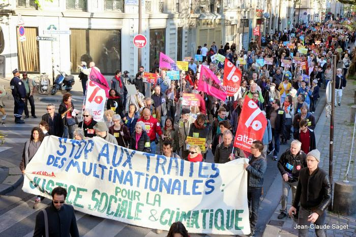 18 avril : Forte mobilisation mondiale contre le TAFTA
